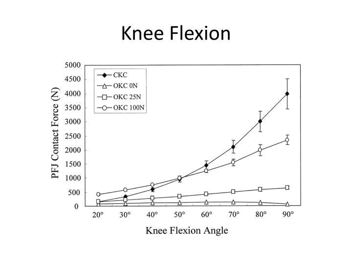 Knee Flexion
