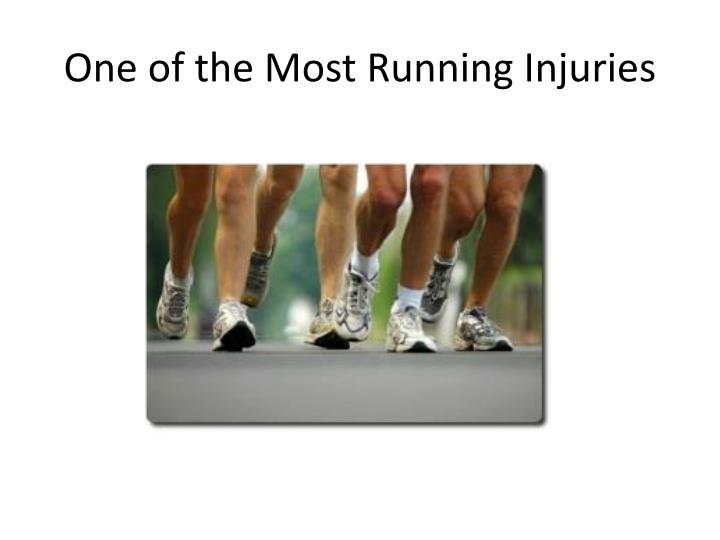 One of the Most Running Injuries