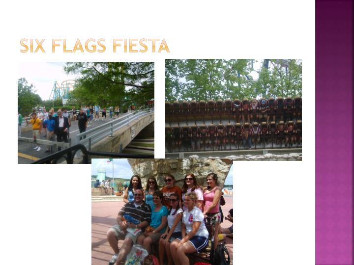 Six flags fiesta