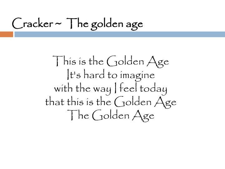 Cracker ~