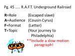pg 45 r a f t underground railroad