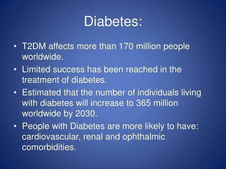 Diabetes: