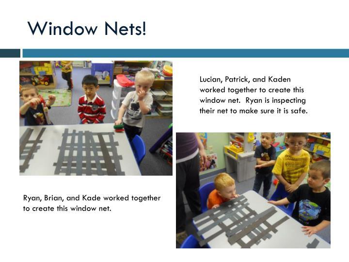 Window Nets!