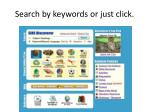 search by keywords or just click