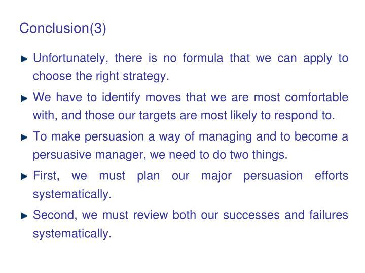 Conclusion(3)
