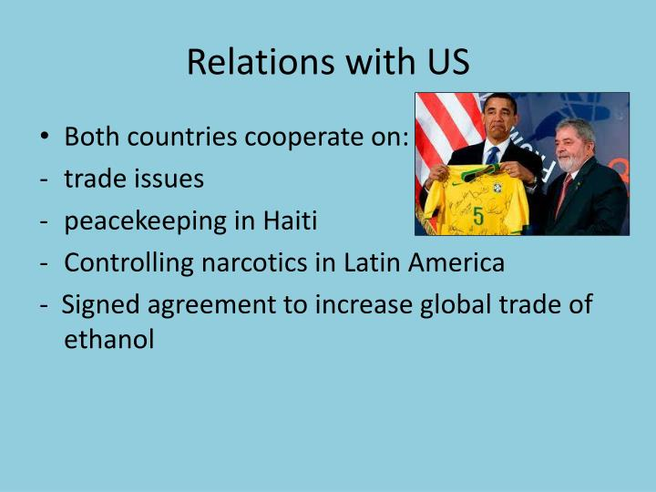 Relations with US