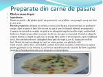 preparate din carne de pasare1