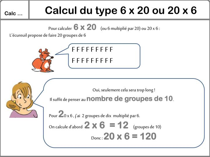 Calcul du type 6 x 20 ou 20 x 6