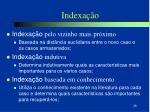 indexa o2