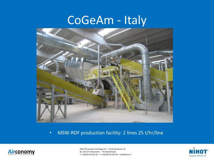 CoGeAm - Italy