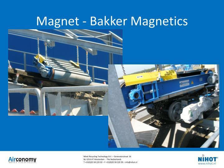 Magnet - Bakker Magnetics