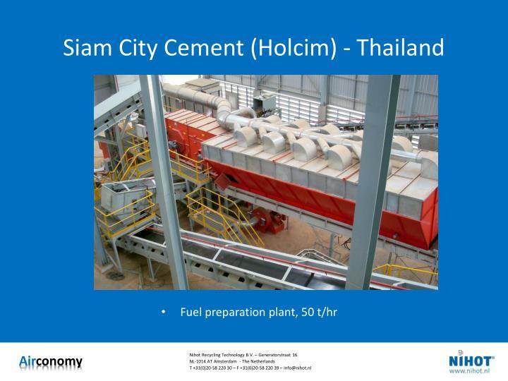 Siam City Cement (Holcim) - Thailand