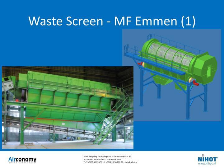 Waste Screen - MF Emmen (1)