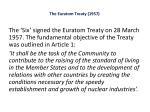 the euratom treaty 1957