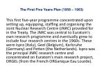 the first five years plan 1958 1963
