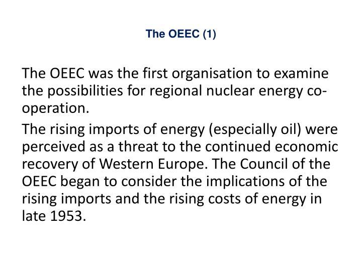 The OEEC