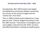 the second five year plan 1963 19672