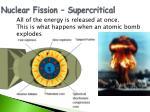 nuclear fission supercritical