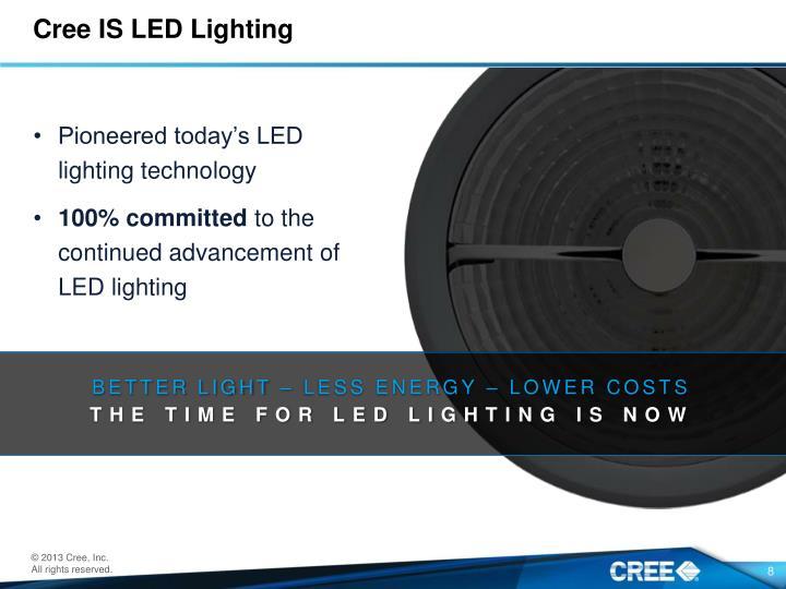 Cree IS LED Lighting