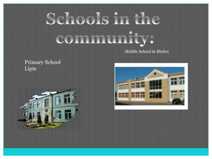 Schools in the