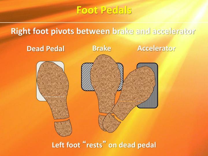 Foot Pedals