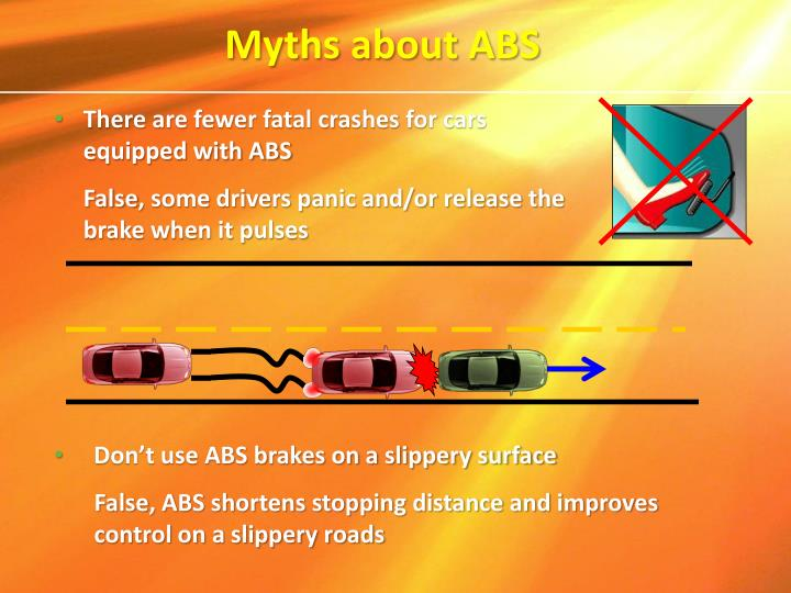 Myths about ABS
