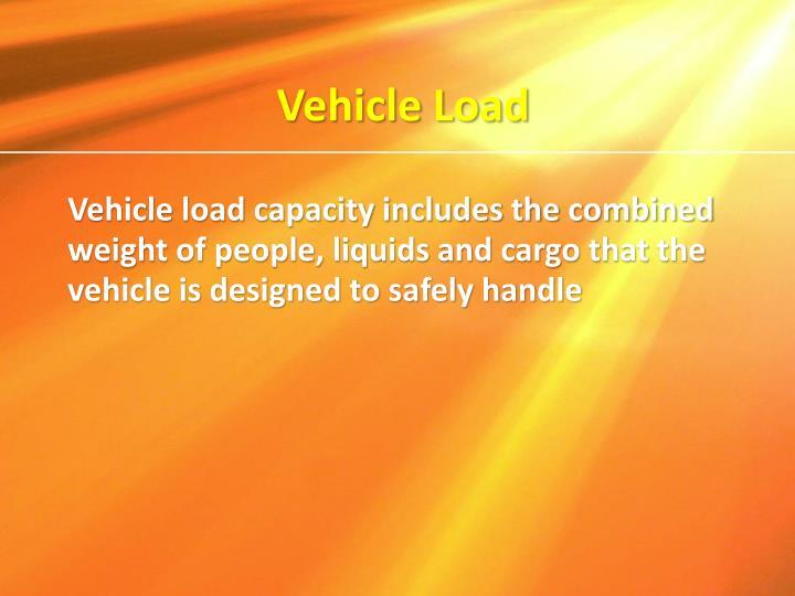Vehicle Load