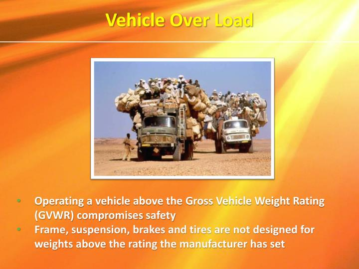 Vehicle Over Load