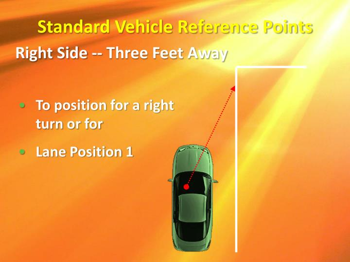 Standard Vehicle Reference Points