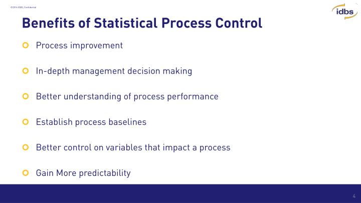 Benefits of Statistical Process Control