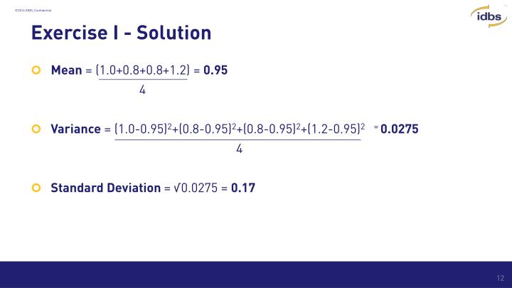Exercise I - Solution