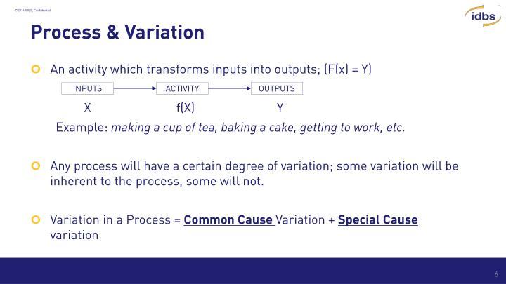 Process & Variation