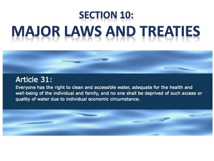 Section 10: