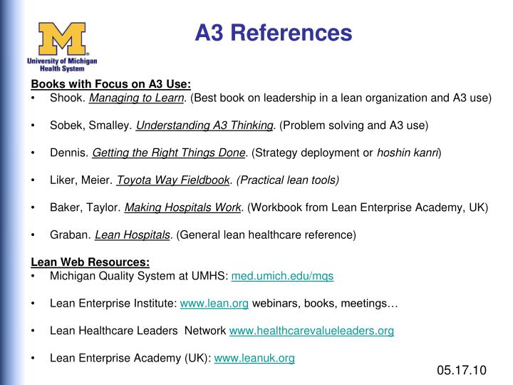A3 References