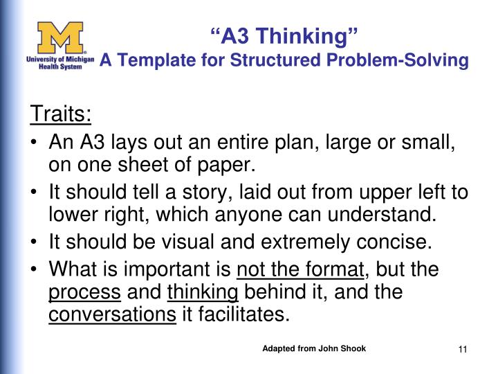 """A3 Thinking"""