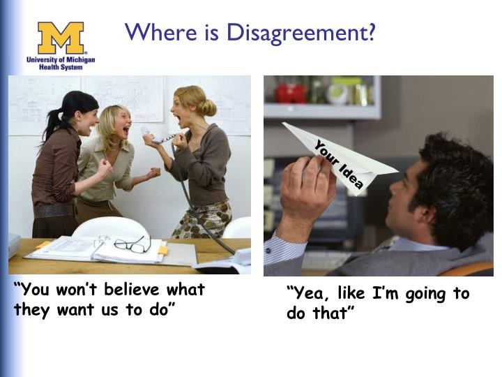 Where is Disagreement?