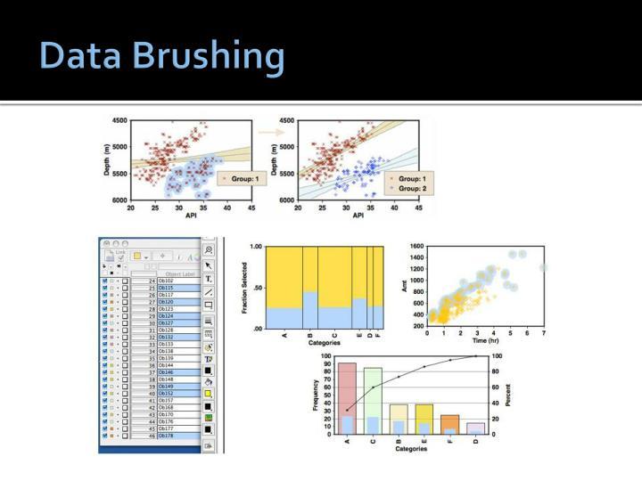 Data Brushing