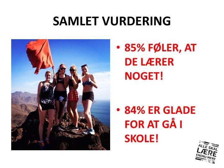 SAMLET VURDERING