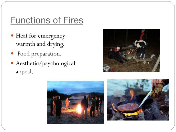 Functions of Fires