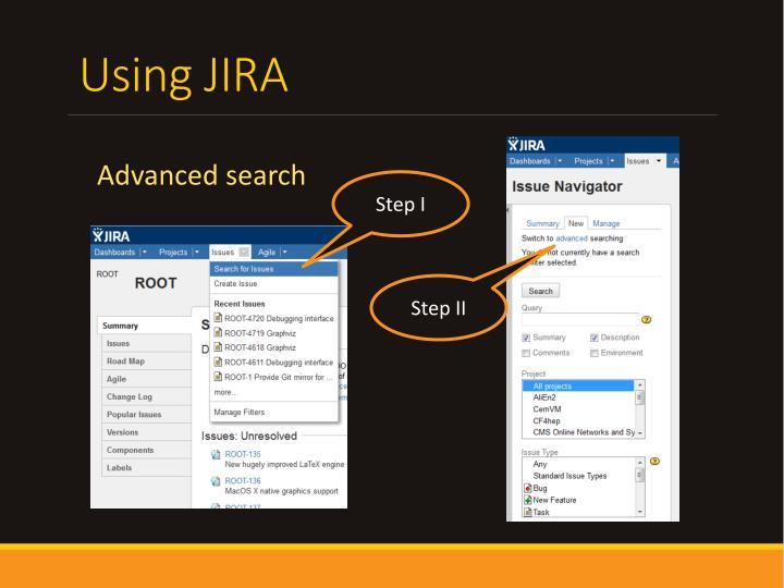 Using JIRA