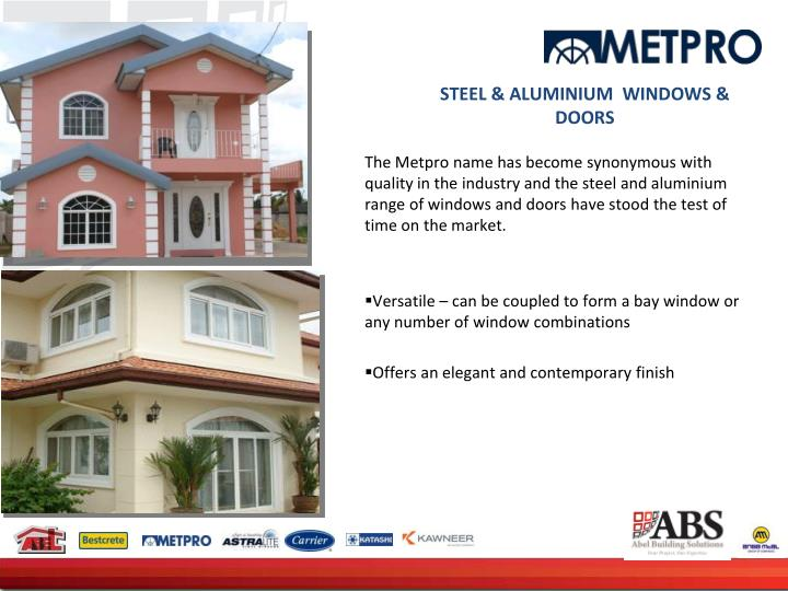 STEEL & ALUMINIUM  WINDOWS & DOORS