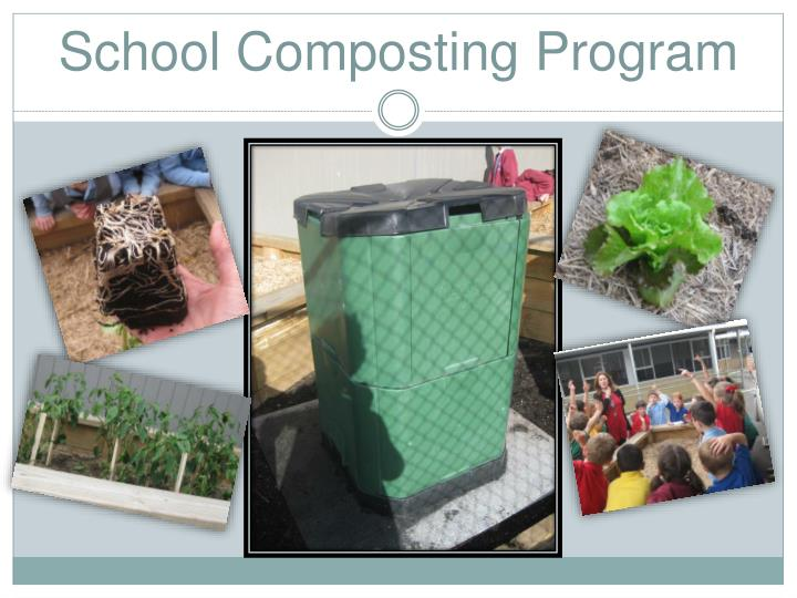 School composting program