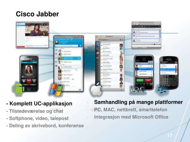 Cisco Jabber