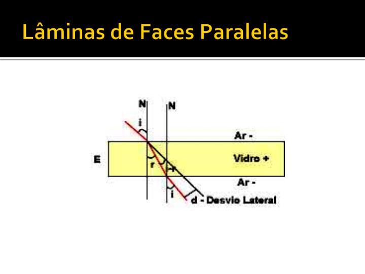 Lâminas de Faces Paralelas