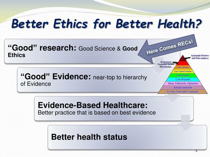 Better Ethics for Better Health?