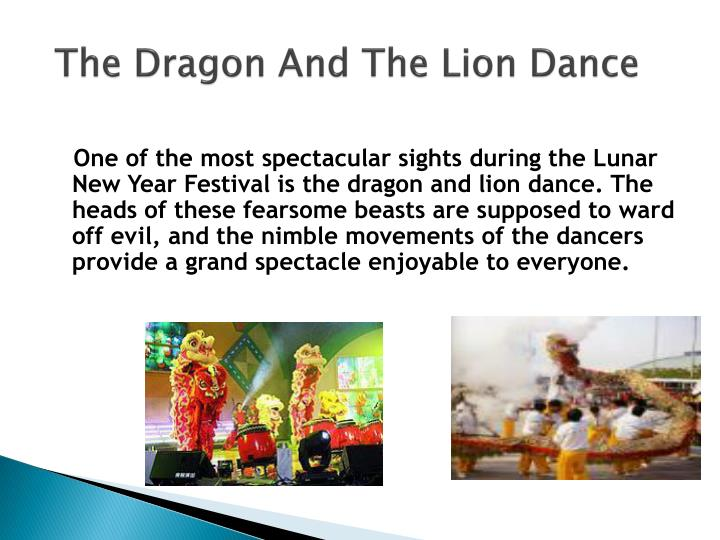 The Dragon And The Lion Dance