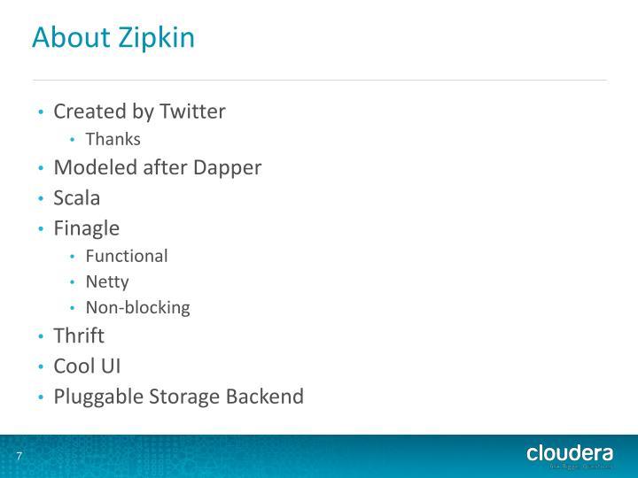About Zipkin