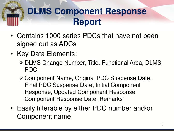 DLMS Component Response