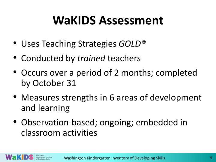 WaKIDS Assessment