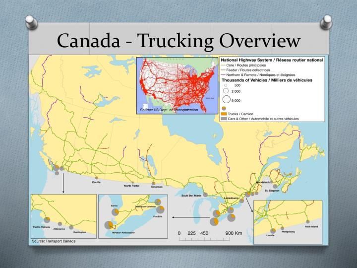 Canada trucking overview